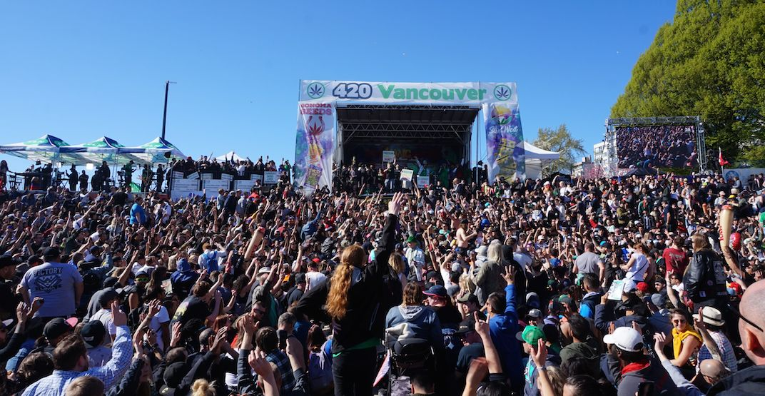 14 wild moments from Vancouver's 4/20 celebration (VIDEOS)