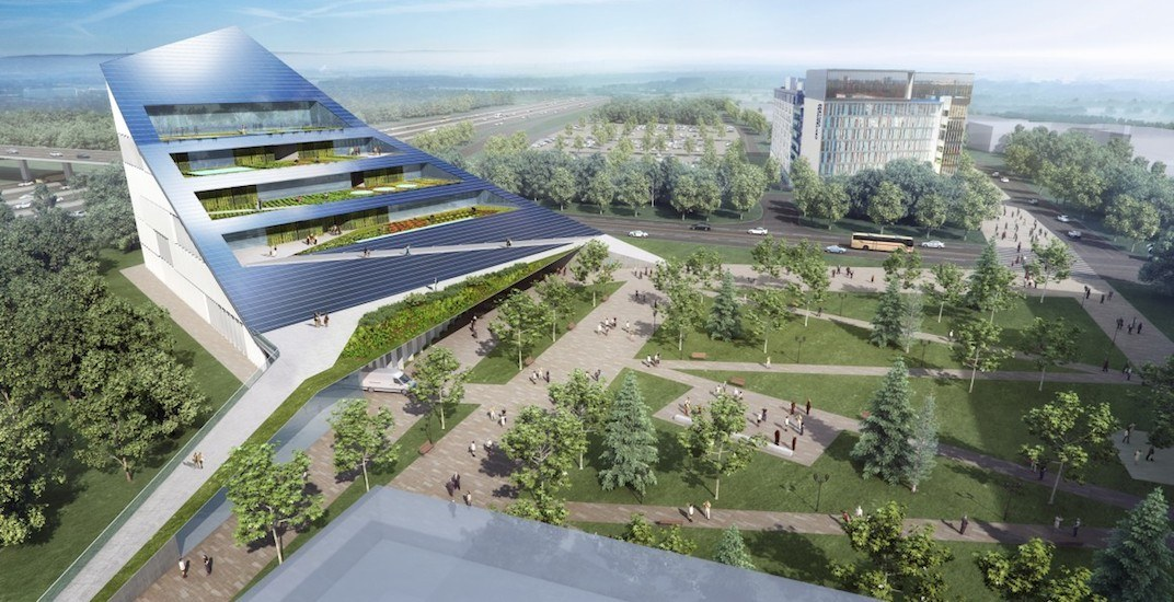 Canada is going to get its first net-zero vertical farm (RENDERINGS)