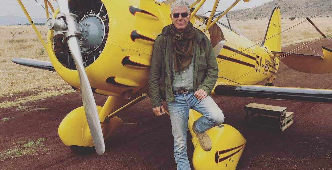 You can attend a free tribute to Anthony Bourdain in Toronto on May 6