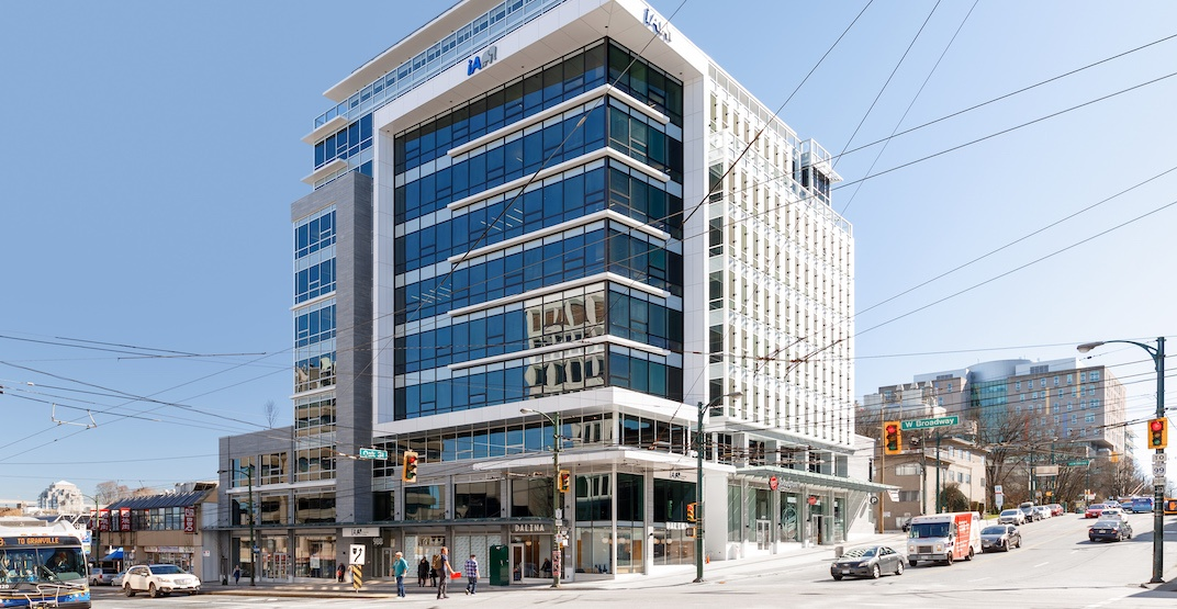 New Broadway building boasts Canada's first 'smart windows' for office