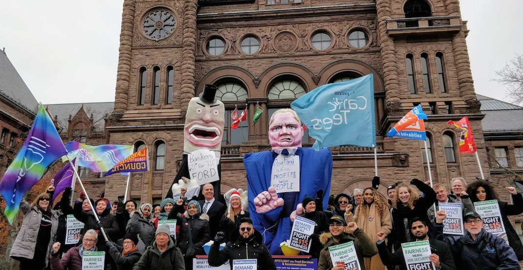Huge strike against Doug Ford planned following recent funding cuts