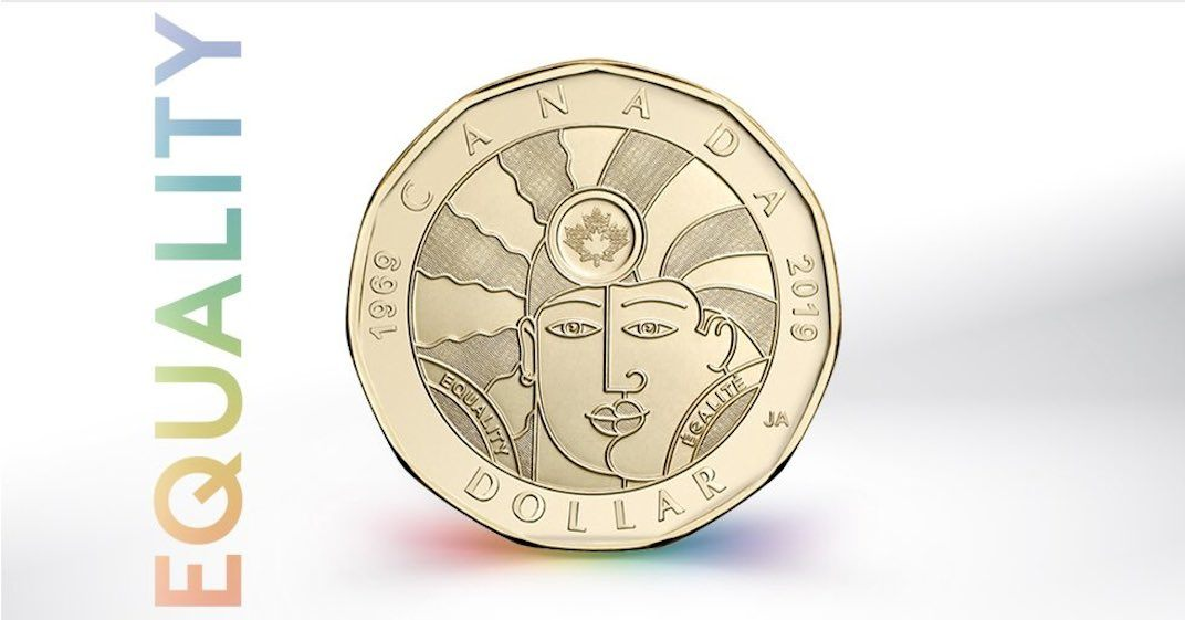 New loonie marking 'progress' for LGBTQ2 Canadians released