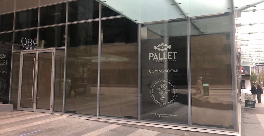 Pallet Coffee is opening a new location in downtown Vancouver (PHOTO)