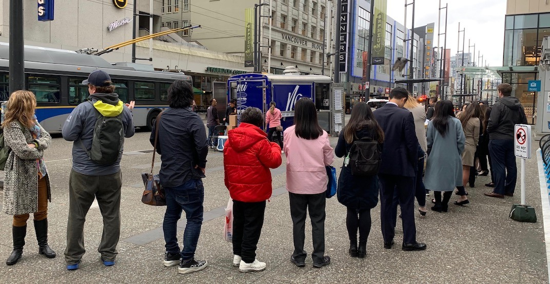 There's a huge line for Vancouver's new food cart 'Namì' (PHOTOS)