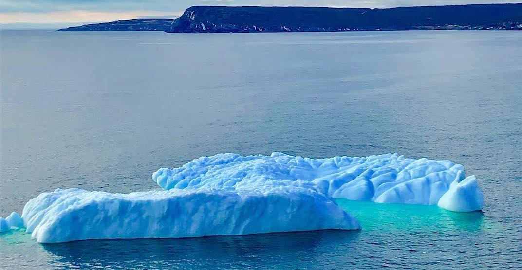 Iceberg season has officially begun in Newfoundland (PHOTOS)