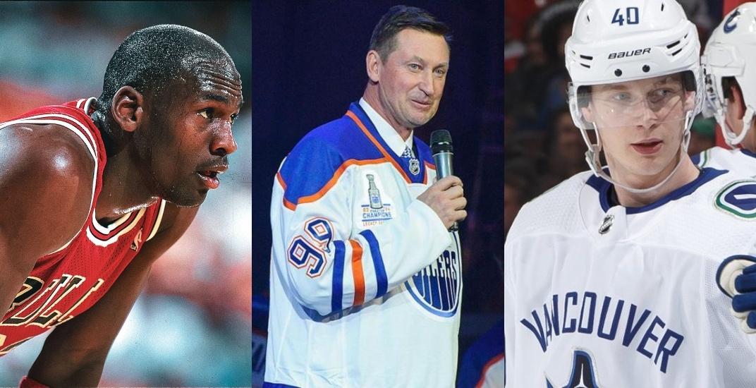 Gretzky praises Canucks' Pettersson with Michael Jordan comparison