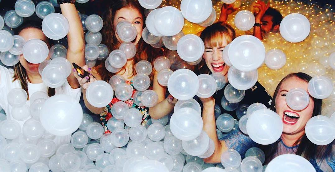 A massive ball pit party is coming to Calgary this September (VIDEO)