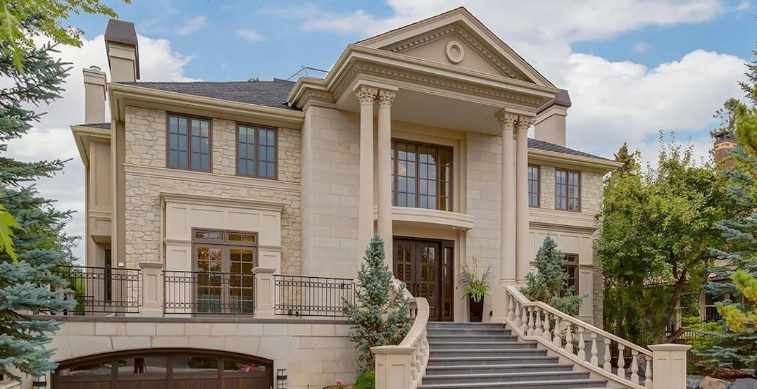 A look inside: This 7,700-sq-ft Calgary estate is on another level (PHOTOS)