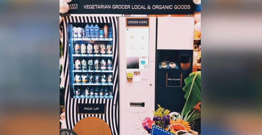 Check out North Vancouver's game-changing new salad vending machine (PHOTOS)