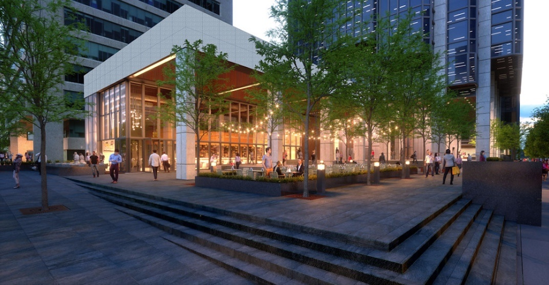 Downtown Vancouver plaza being renovated just in time for Amazon tenancy