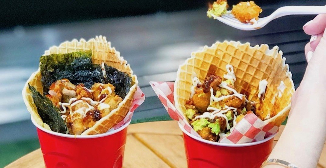 Metro Vancouver's 'Heart Company' flower shop sells chicken and waffles