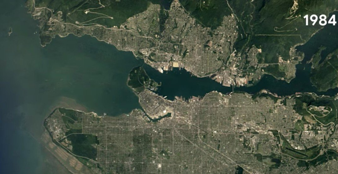 Google Earth releases timelapse of Vancouver over the last 35 years on google africa map, google maps italy, google latitude, earth view map, the earth map, world map, satellite map, google moon map, virtual earth map, united states map, from google to map, google street view, bing map, flat earth map, street view map, google sky, gis map, europe map, google us map, google maps car,