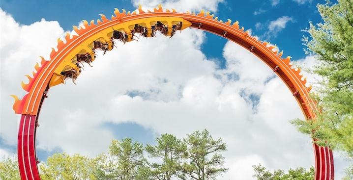 La Ronde to kick off upcoming season with wild new 7-storey loop roller coaster