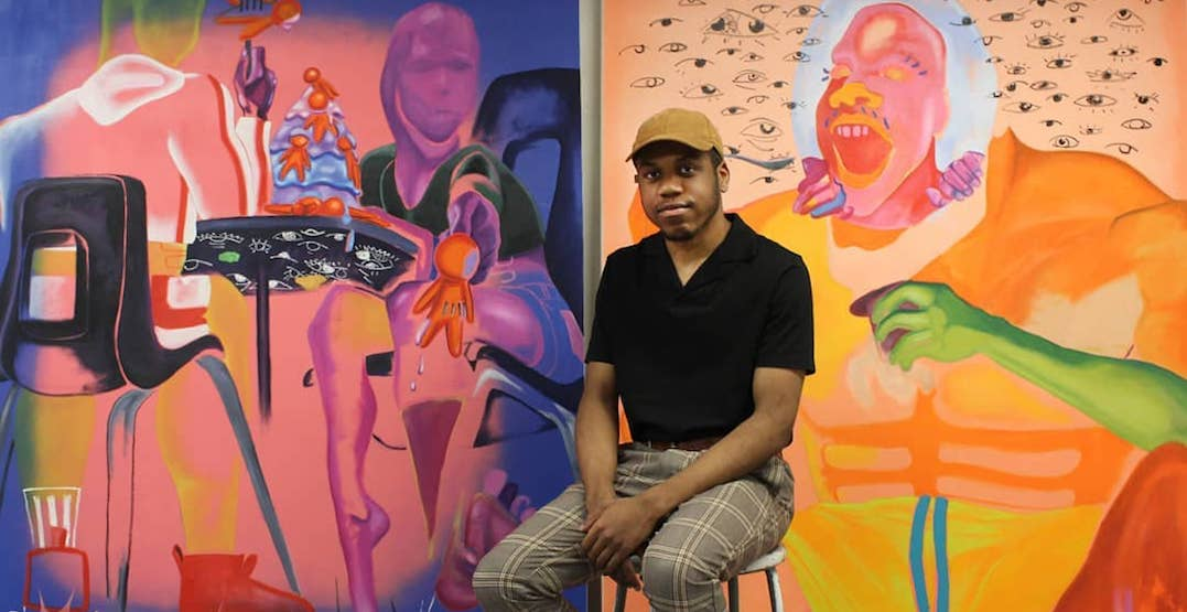 OCAD is having a huge FREE art show featuring its up-and-coming grads