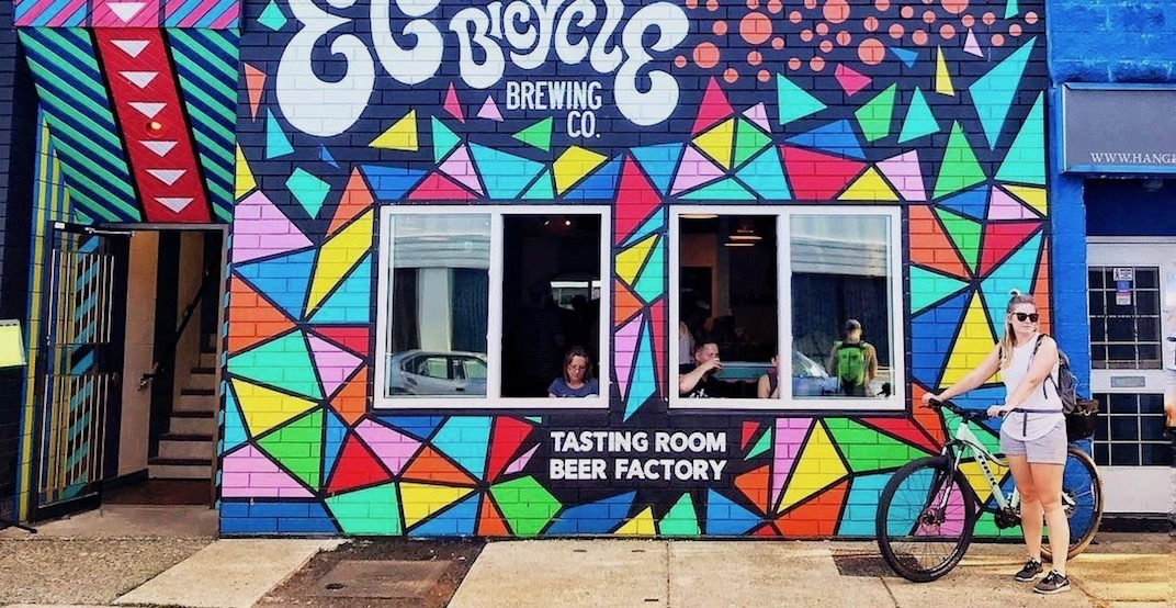 Electric Bicycle Brewing is throwing a FREE back alley party on May 4