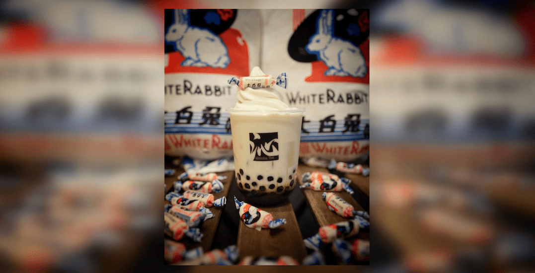 GTA bubble tea joint launching White Rabbit drink on Saturday