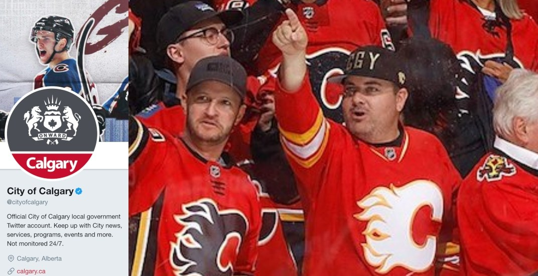 Lost bet forces City of Calgary Twitter account to join Avalanche bandwagon