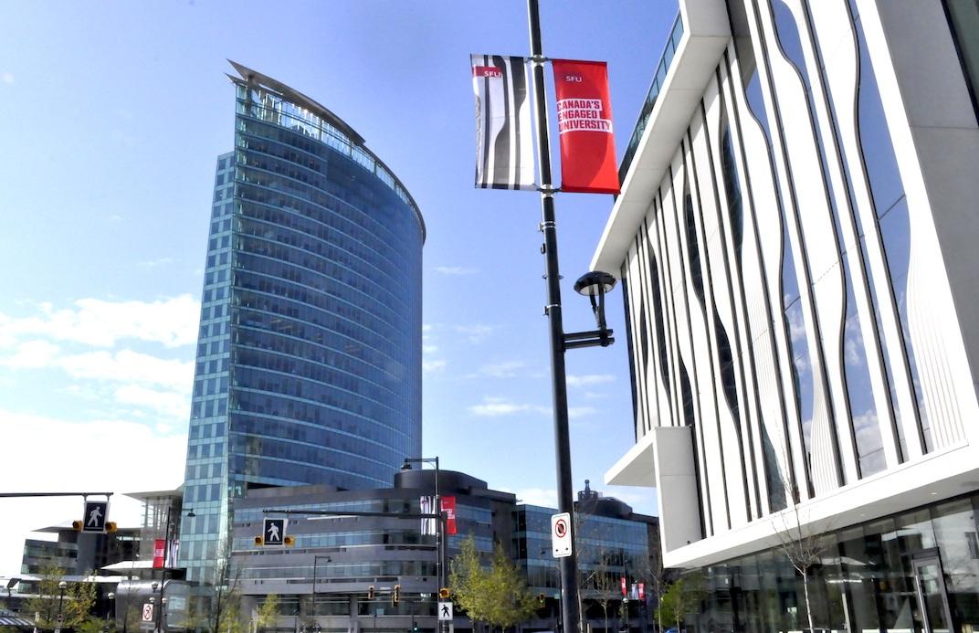 SFU Surrey's new Sustainable Energy Engineering building. (SFU)
