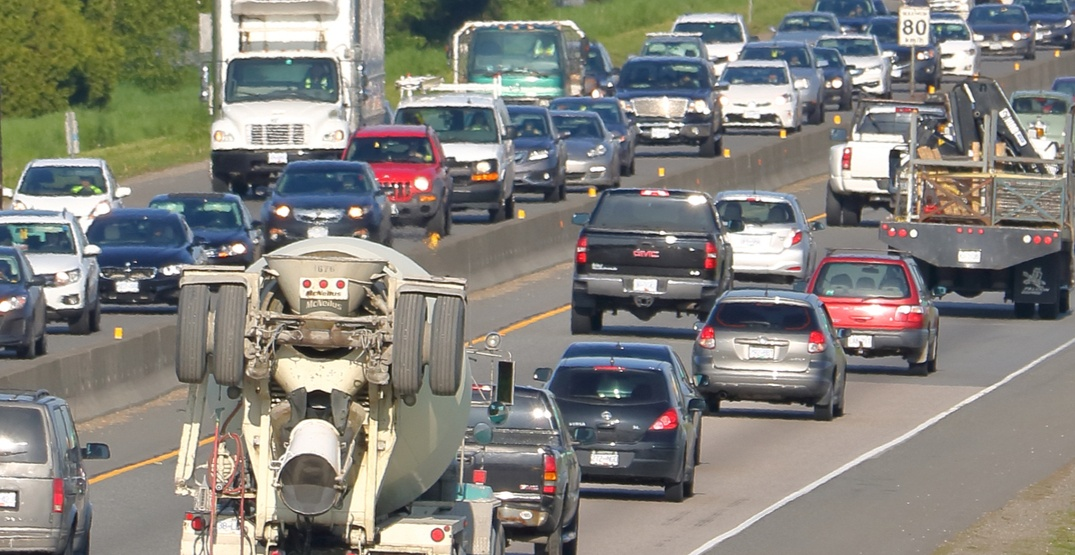 $235-million in funding announced to reduce congestion on Highway 1 through Langley