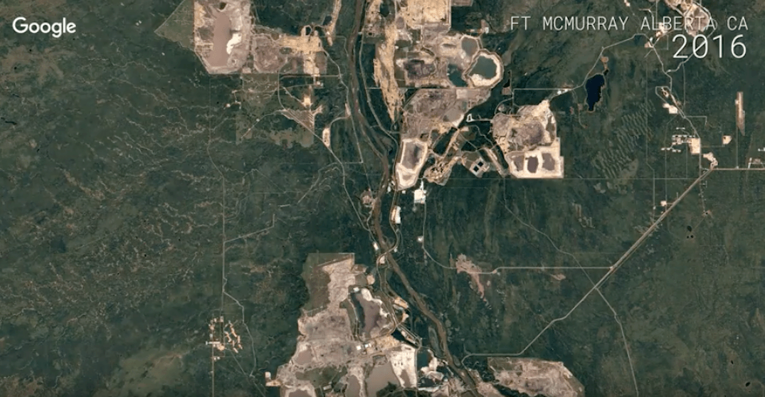 Google Earth releases timelapse of Fort McMurray over 35 years