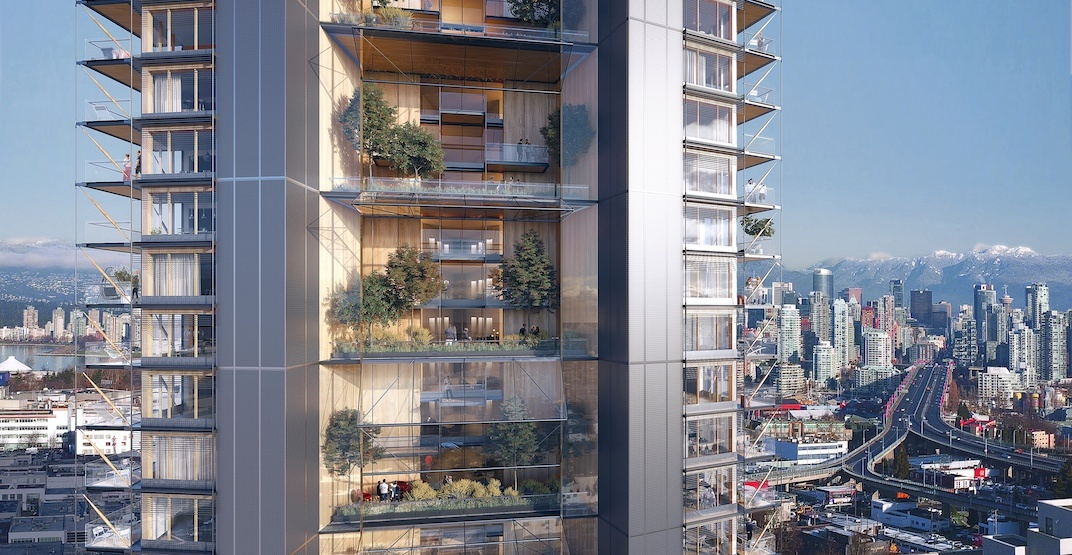 Up to 40 floors: World's tallest wood tower proposed for Vancouver (RENDERINGS)