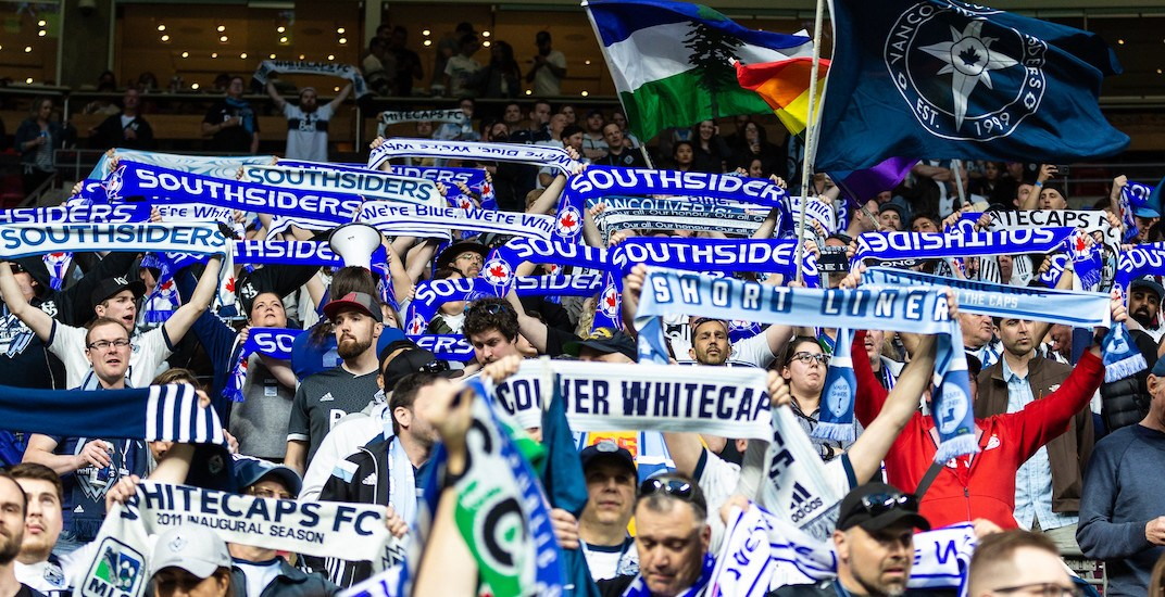 Southsiders fans whitecaps