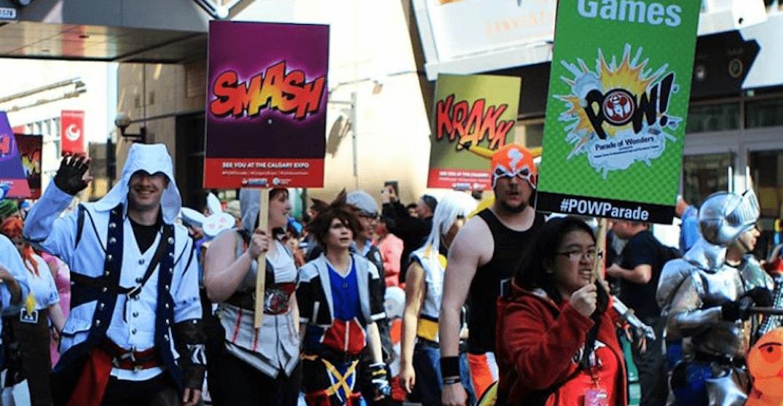 12 photos of this year's Calgary Expo POW! Parade of Wonders