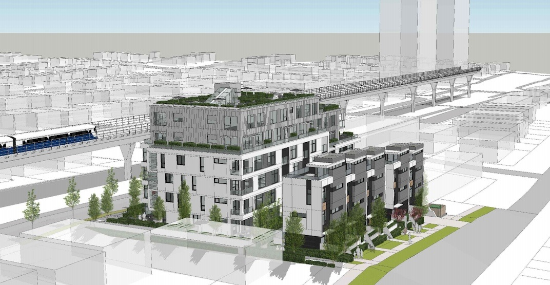 68 homes proposed for land assembly near Joyce-Collingwood Station