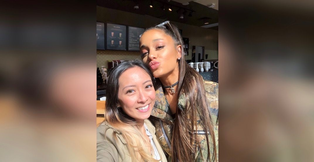 Ariana Grande was just spotted at this Vancouver Starbucks (PHOTOS)