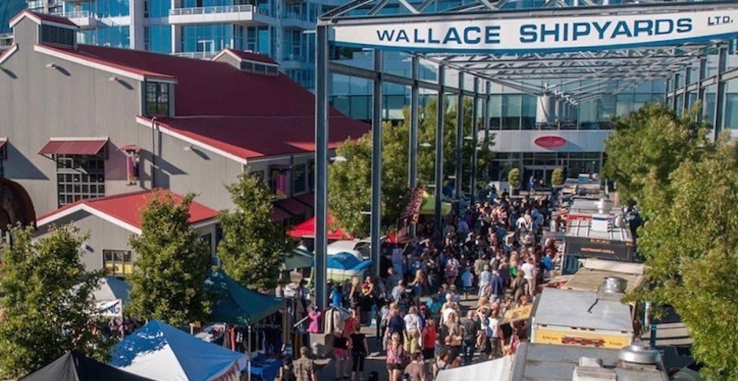 North Vancouver's FREE Shipyards Night Market kicks off May 3