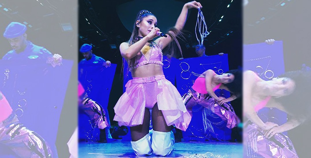 23 photos and videos from Ariana Grande's weekend concert in Vancouver