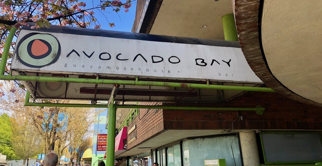 Canada's first 'all-avocado eatery' has quietly shuttered in Vancouver