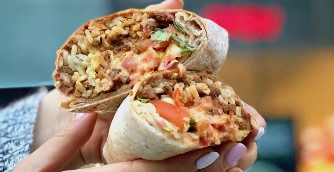Quesada is offering $5 burritos across Canada from May 1 to 5