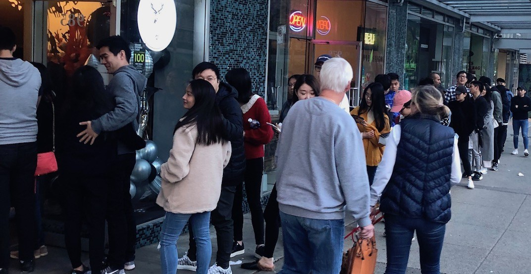 Vancouver's first location of 'The Alley' drew HUGE lines this weekend (PHOTOS)