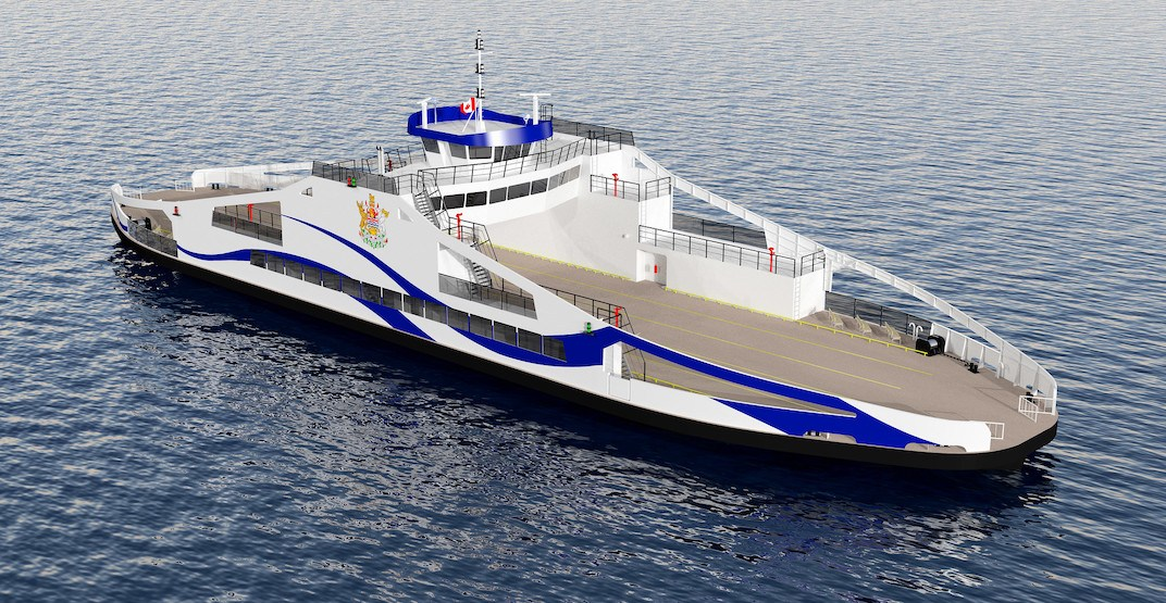 New electric vessel coming to world's longest scenic free ferry route in BC