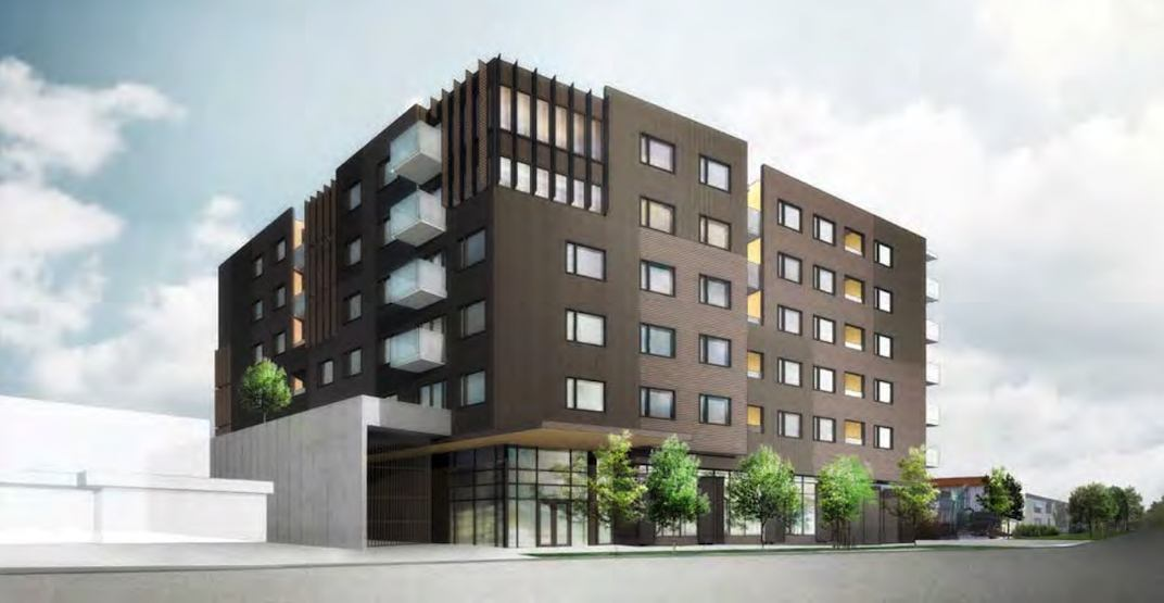 New residential building with industrial space proposed for East Vancouver