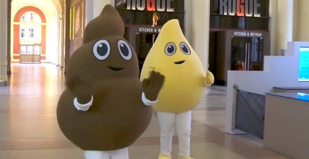 This isn't a joke: Poo and Pee are Metro Vancouver's newest mascots