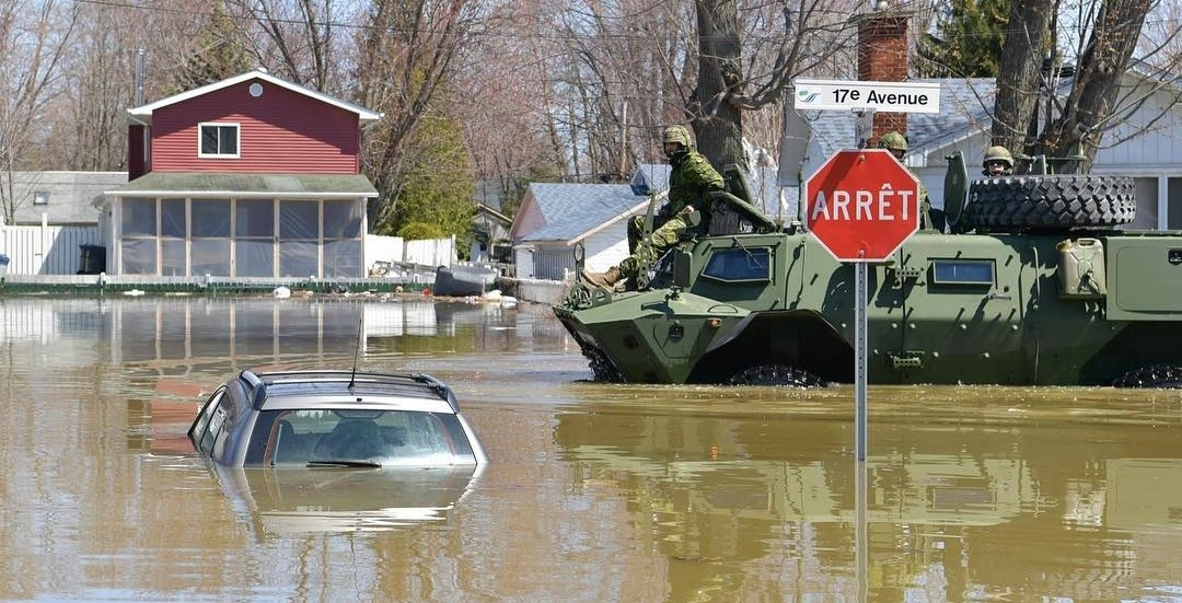 Laval police warn of potential fraudsters in wake of Quebec floods