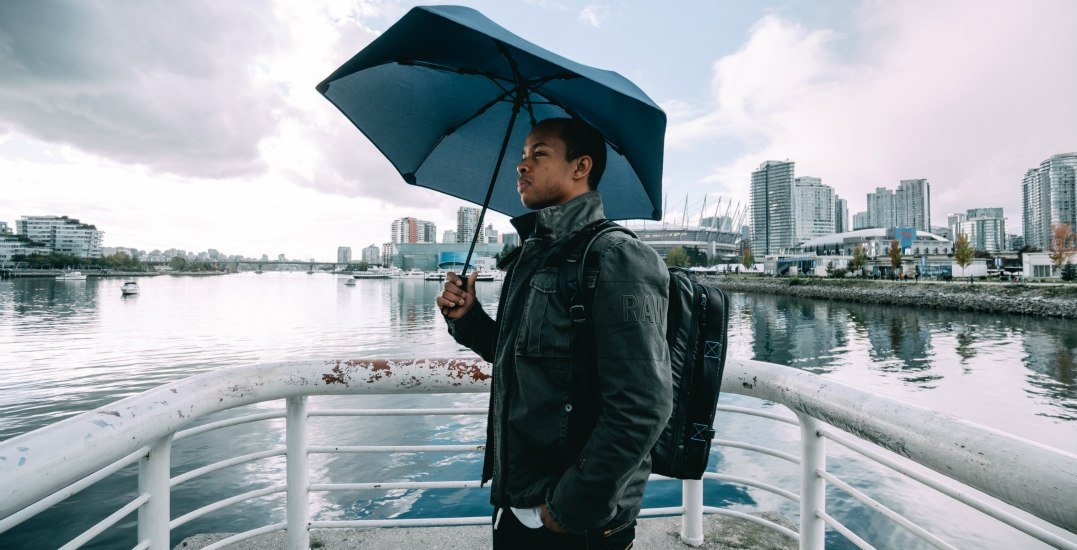 This indestructible umbrella will never flip inside out