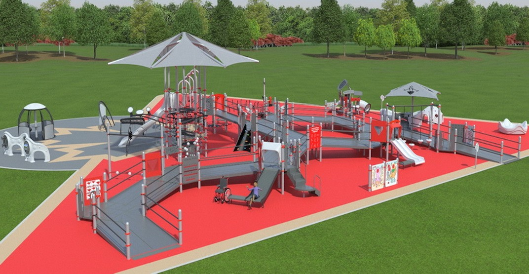 Surrey playground universally accessible