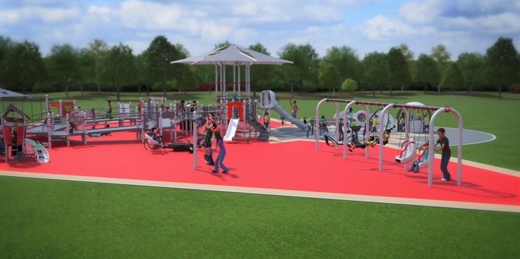 Surrey playground universally accessible