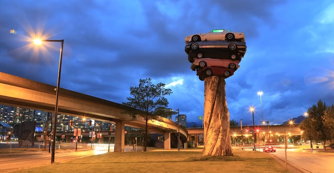 Chip Wilson's donation will turn Trans Am Totem into a permanent Vancouver fixture