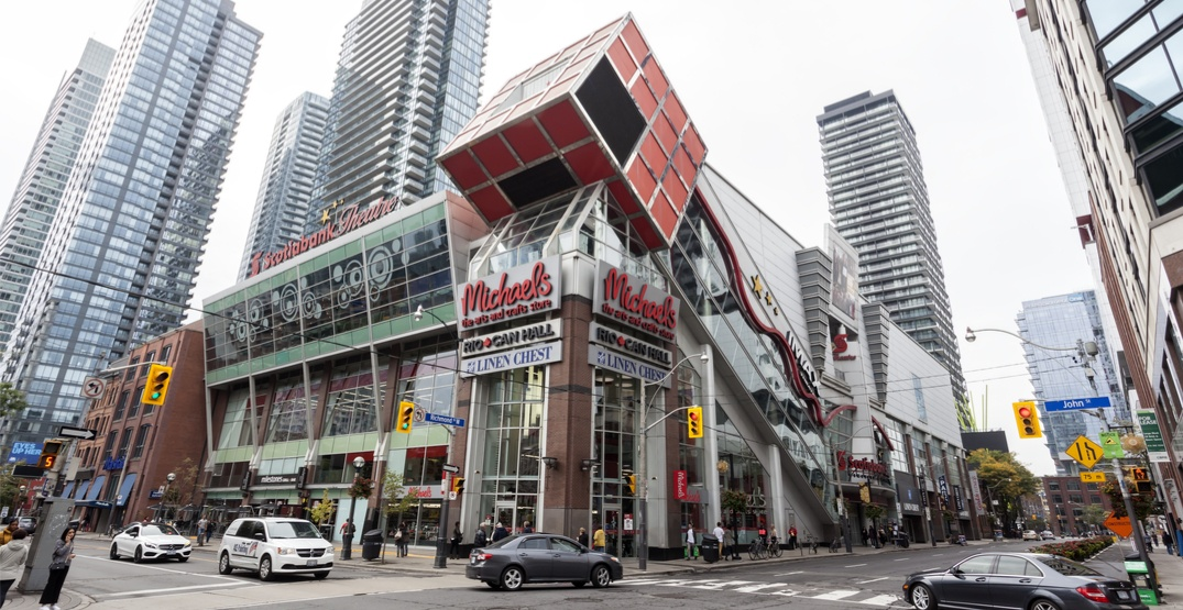 Toronto's iconic Scotiabank Theatre may be replaced by condo towers (RENDERING)