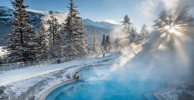 Banff upper hot springs feature
