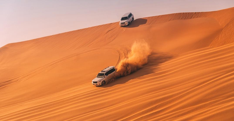 United arab emirates dunes