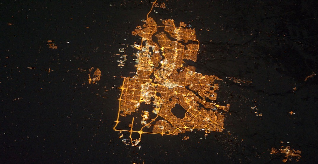 Here's what Calgary looks like from the International Space Station (PHOTOS)