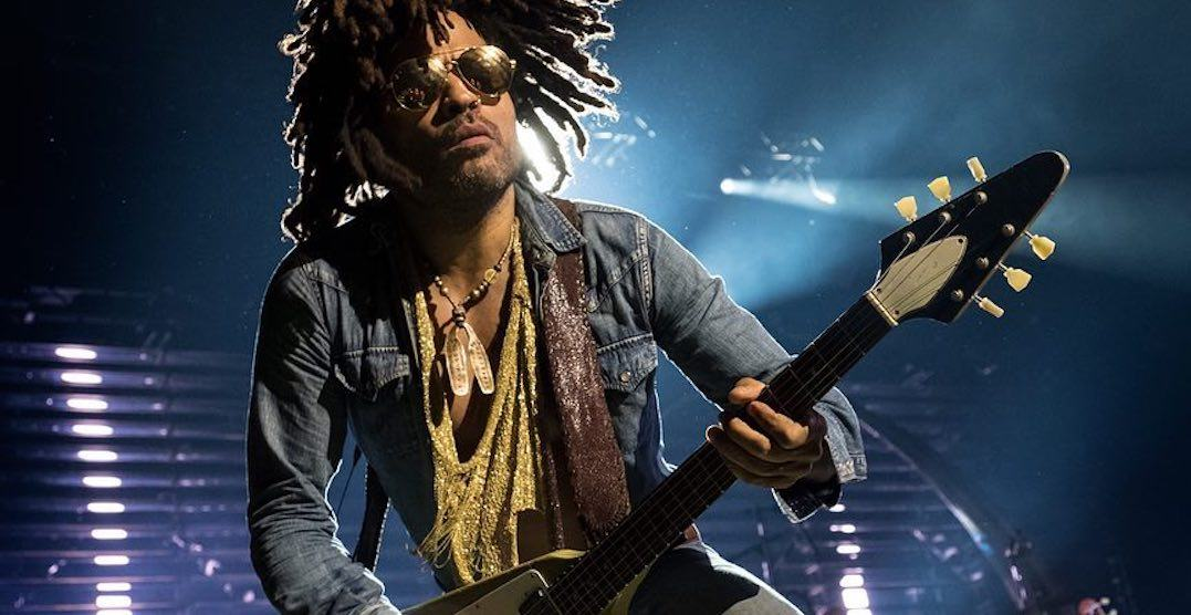 Lenny Kravitz is performing in Toronto this September