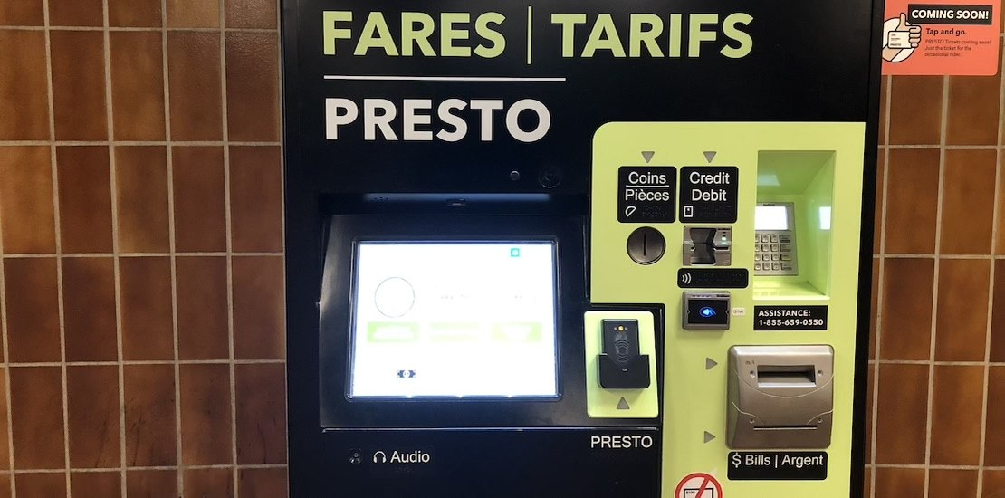Limited-use, disposable PRESTO tickets are now available at more TTC stations