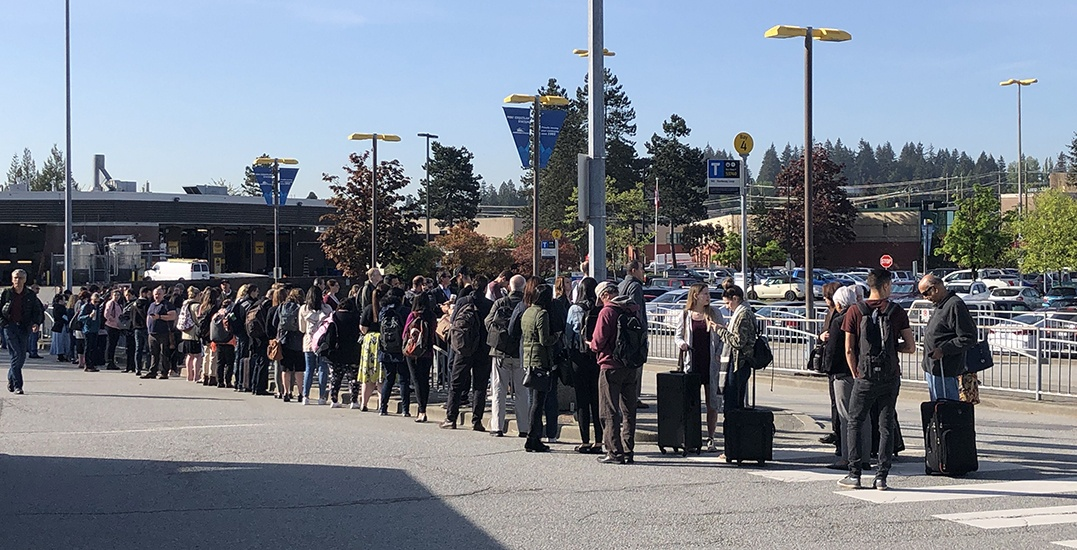 Lengthy delays after West Coast Express breaks down at Port Coquitlam Station (PHOTOS)