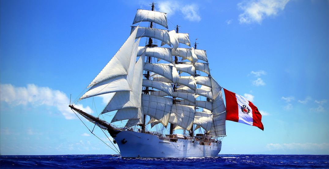 You can tour this Peruvian tall ship for FREE this weekend